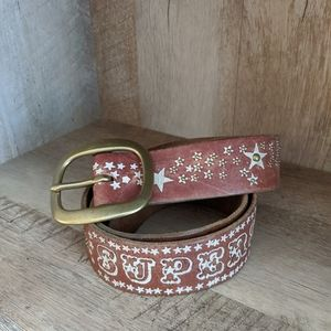 "Lucky Brand Leather ""Superstar"" Belt"